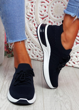 Goka Navy Sport Sneakers