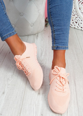 Fego Light Pink Running Sneakers