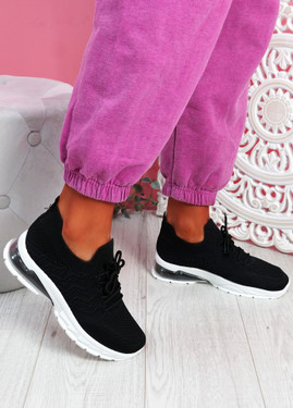 Tocca Black Running Sneakers