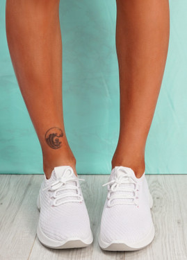 Lommy White Sport Trainers