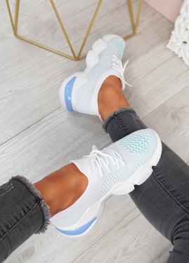 Mezze Blue Sport Running Trainers