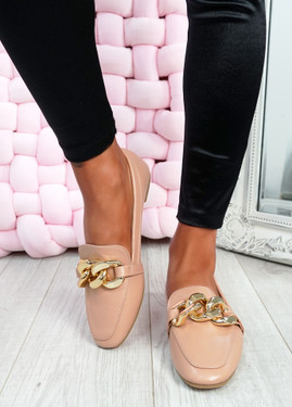 Darcie Pink Flat Ballerinas