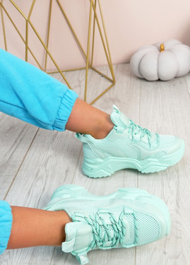 Nozzo Green Chunky Sneakers