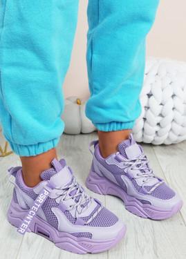 Nozzo Purple Chunky Sneakers