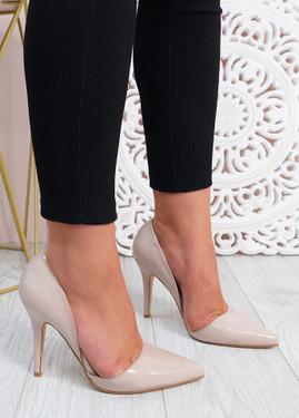 Paula Nude High Heels Shoes
