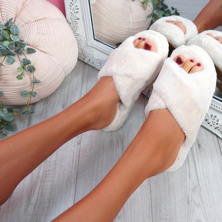 Monny Apricot Fluffy Sliders