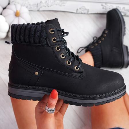 Dixa Black Ankle Boots