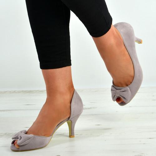 Presley Light Purple Bow Sandals