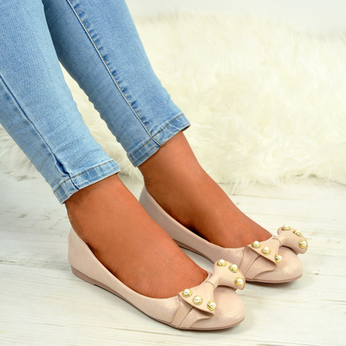 Joselyn Pink Pearl Ballerina