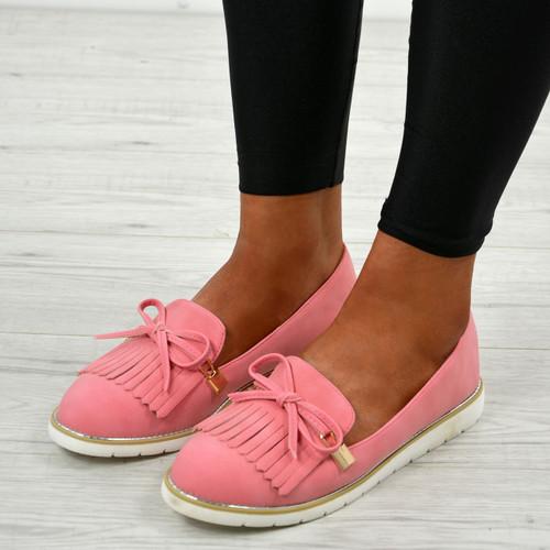 Londyn Pink Tassel Ballerina