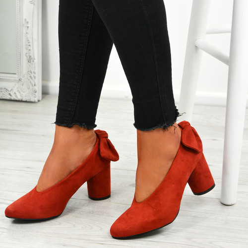 Nikka Red Bow Pumps