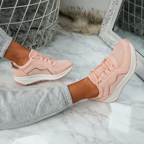 Primo Pink Fashion Trainers