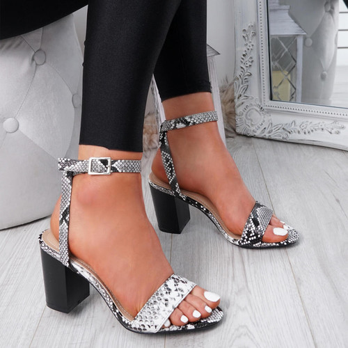 Tewa Snake Ankle Strap Sandals