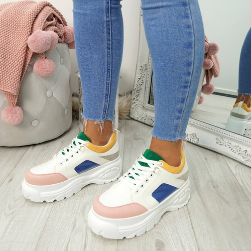 Fyno Multicolour Chunky Trainers