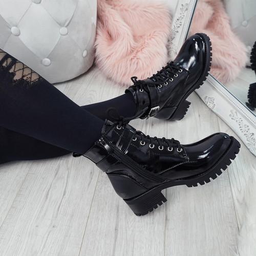 Nozia Black Ankle Boots