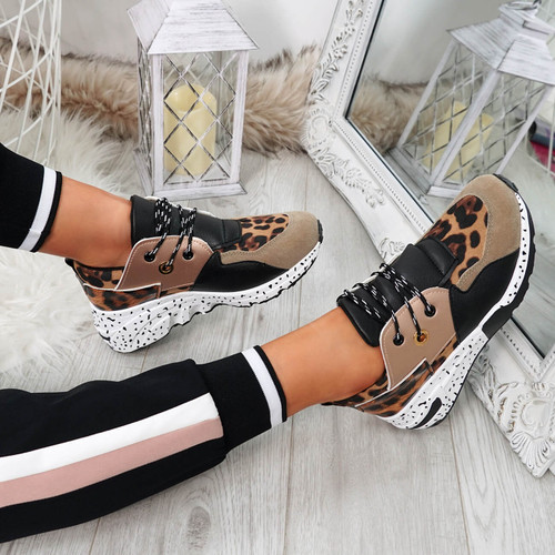 Infa Camel Leopard Trainers