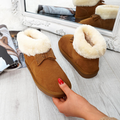 Fya Camel Ankle Boots