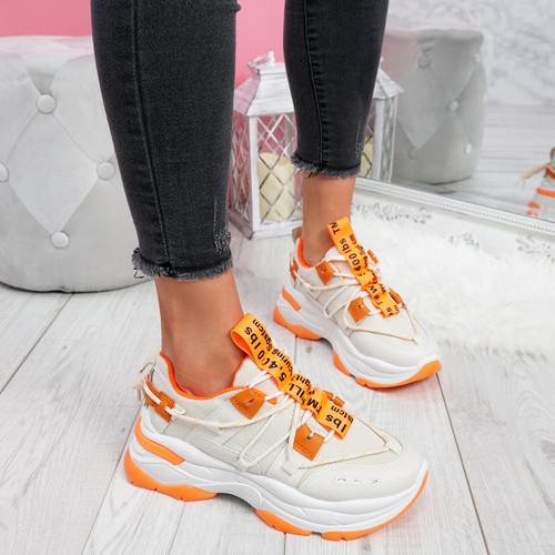 Opye Beige Chunky Sneakers