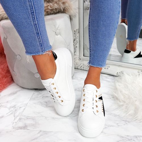 Krilley White Trainers