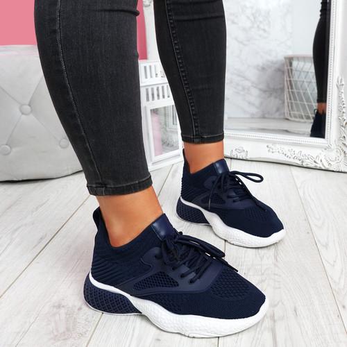 Bya Blue Running Trainers