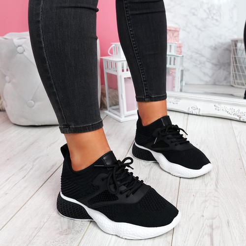Bya Black Running Trainers