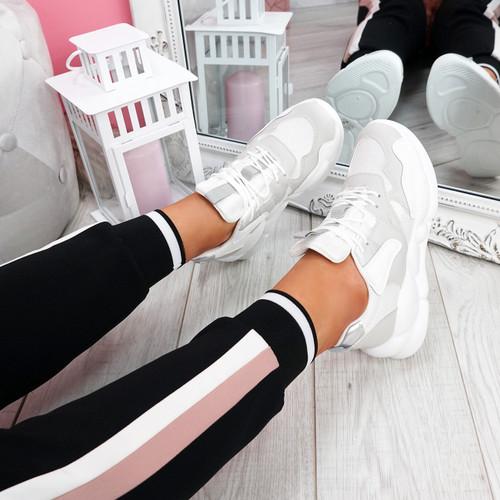 Sima Grey Chunky Sneakers