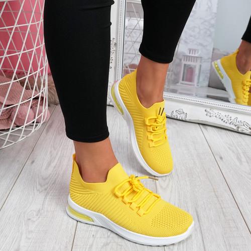 Gummy Yellow Sport Sneakers