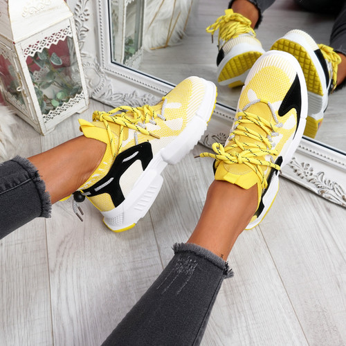Orre Yellow Chunky Sneakers