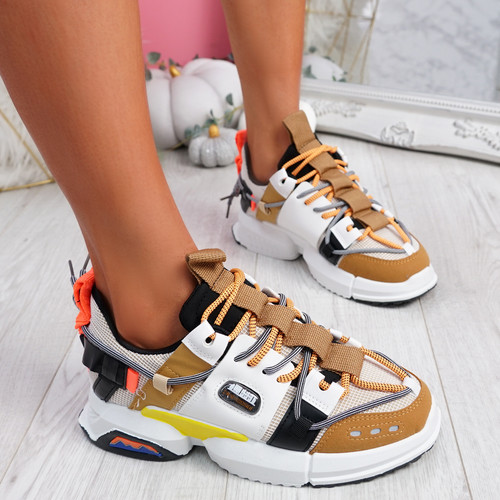 Keso Camel Chunky Sport Trainers