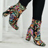 Ally Floral Embroidered Ankle Boots
