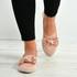 Monique Pink Front Bow Ballerina