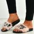 Nicole Pink Fur Sandals
