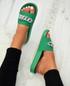 Kama Green Sliders
