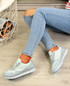 Emmale Blue Sneakers Trainers