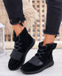 Viga Black Trainers Ankle Boots