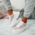 Fiza Pink Chunky Sneakers