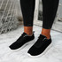 Lanyx Black Lace Up Trainers