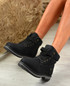 Patricia Black Ankle Boots