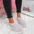 Zippy Apricot Studded Sock Trainers