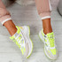 Fiffe Fluorescent Green Chunky Sneakers