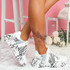 Hoppe White Lace Up Chunky Sneakers