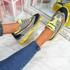 Luny Grey Chunky Sneakers