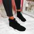 Pomy Black Sock Chunky Sneakers