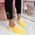 Enny Yellow Running Trainers