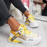 Keve Yellow Chunky Trainers