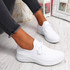 Loky White Running Trainers