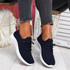 Loky Navy Running Trainers