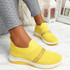 Goppa Yellow Studded Sneakers