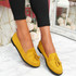 Latta Yellow Flat Ballerinas