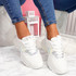 Geppo White Chunky Trainers
